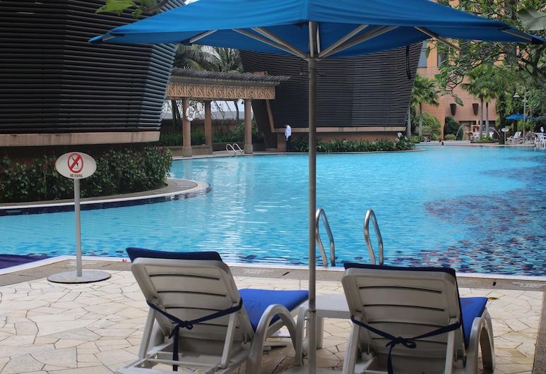 時代廣場優質服務套房飯店, 吉隆坡, 室外游泳池