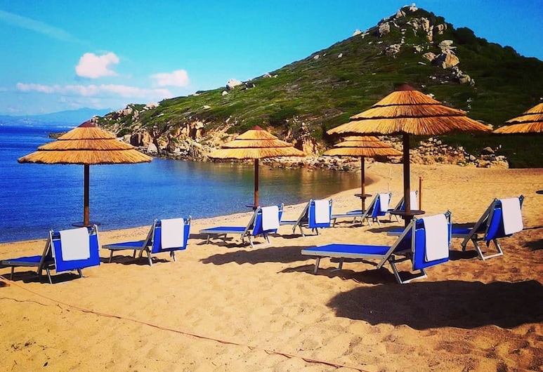 Punta Falcone Resort, Santa Teresa Gallura, Playa