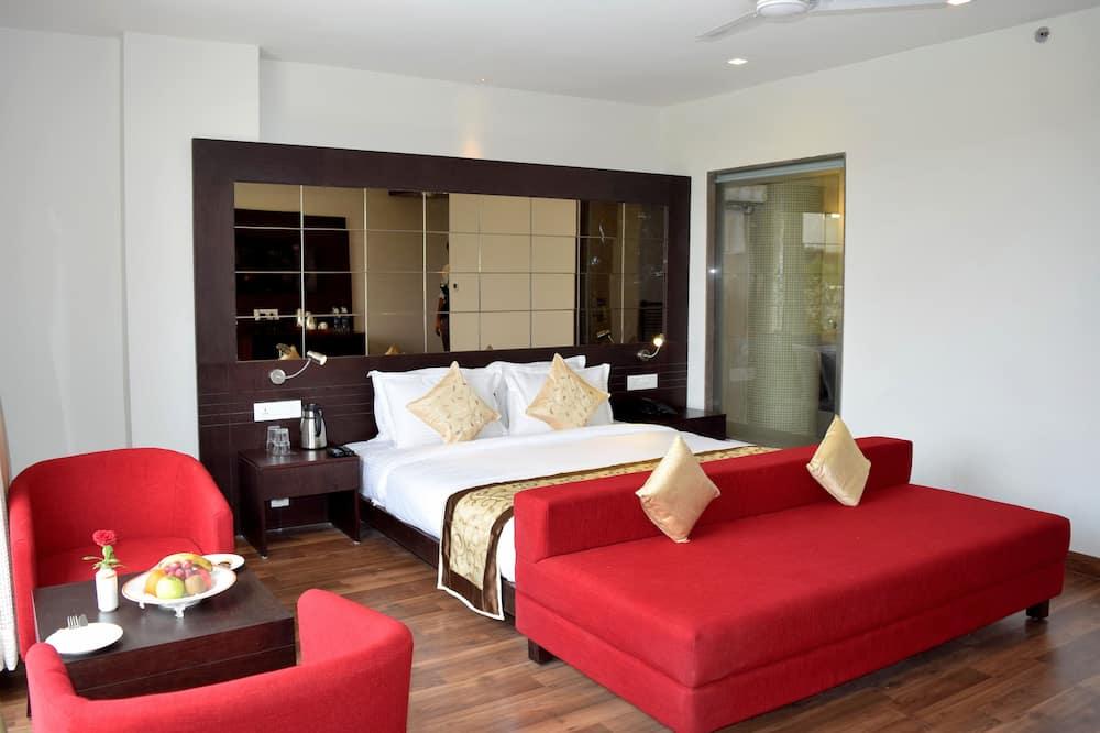 חדר אקזקיוטיב, מיטת קווין - אזור מגורים