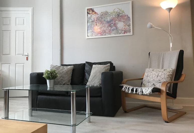 Easter Road Edinburgh Apartment, Edinburgh, Comfort appartement, 2 slaapkamers, niet-roken, Woonkamer