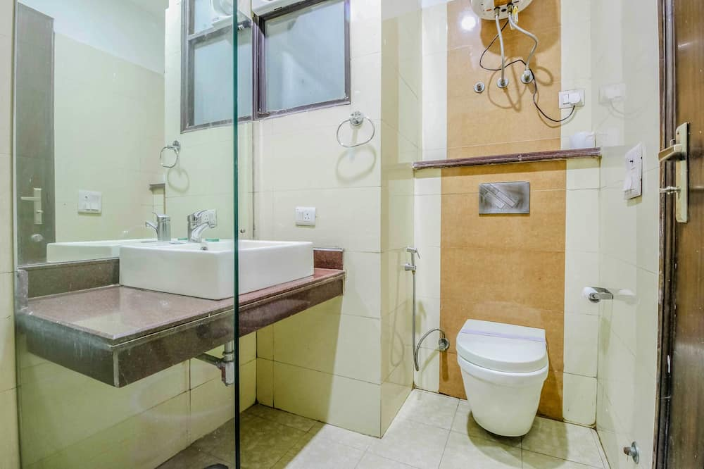 Dvojlôžková izba typu Premium, 1 extra veľké dvojlôžko, nefajčiarska izba - Kúpeľňa