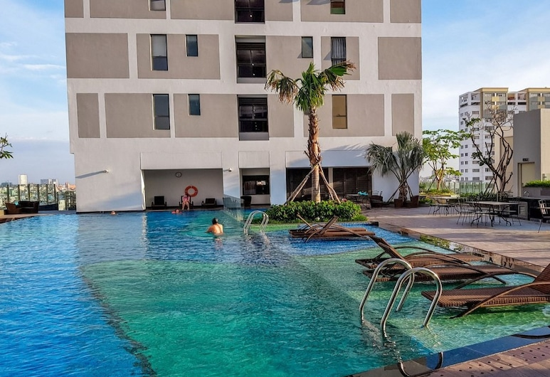Blue Apartment Rivergate, Ho Chi Minh City, Kültéri medence