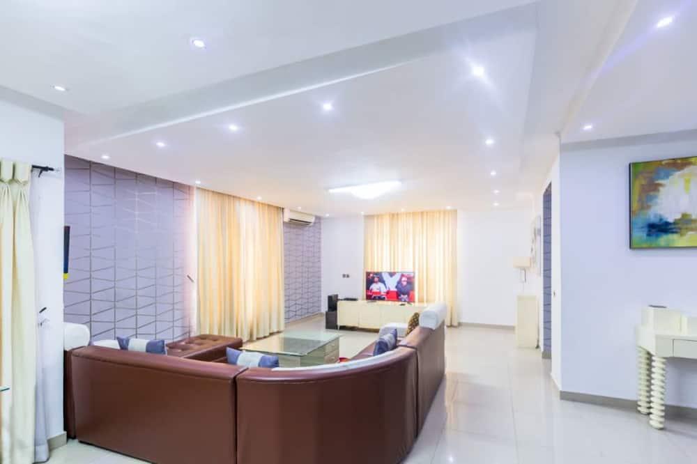 Apartmán typu Executive, viacero postelí - Obývacie priestory