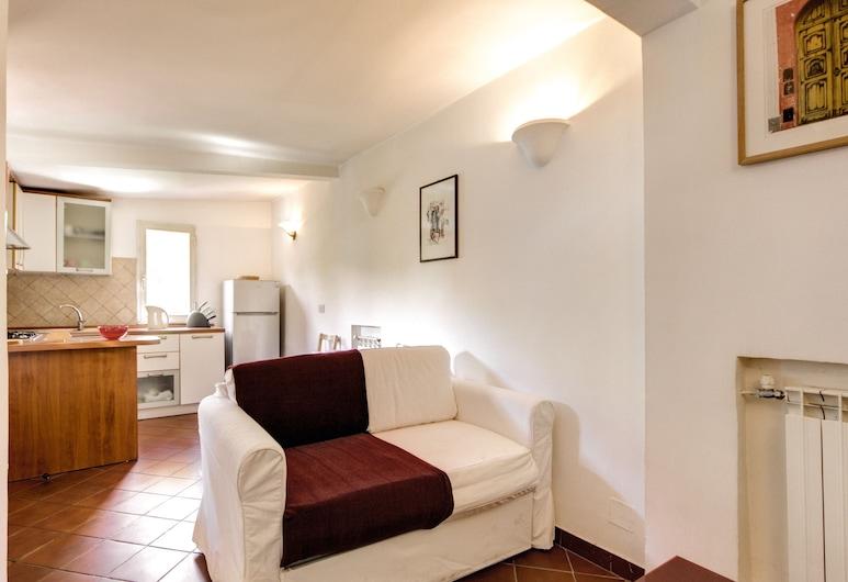 Attico Sannio 1, Rome, Living Area