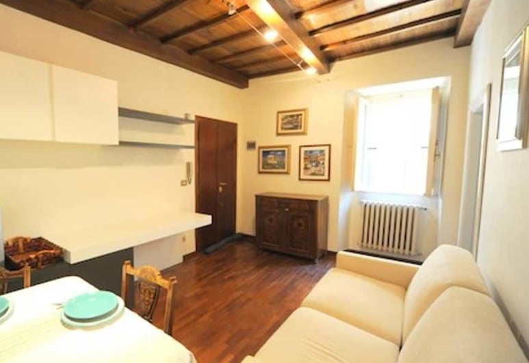 Spanish Step Suite, Rome, Apartment, 1 Bedroom, Living Area