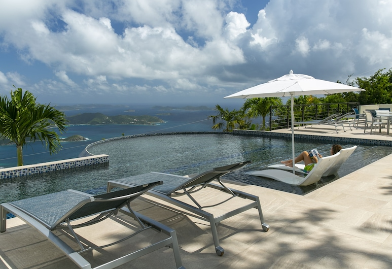 Calichi at Picture Point, St. John, Infinity Pool