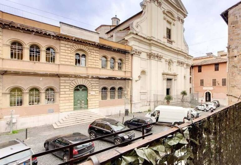 Trastevere Loft Scala, Rome, Duplex, View from room