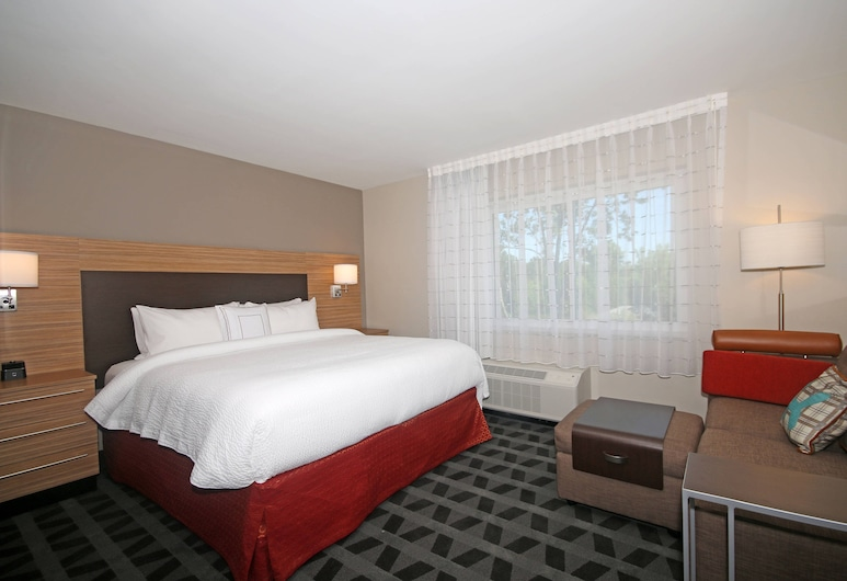 TownePlace Suites by Marriott Charleston-North Charleston, North Charleston, Estudio, 1 cama King size, para no fumadores, Habitación