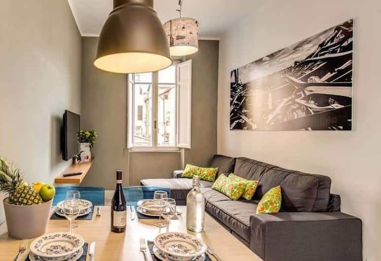 Monti - Coliseum 3 bedroom apartment, Rome, Apartment, 3 Bedrooms, Living Area