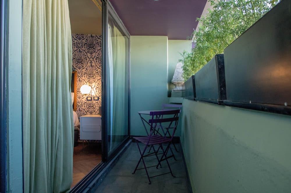 ห้องเอ็กเซกคิวทีฟสวีท, เตียงคิงไซส์ 1 เตียง, ปลอดบุหรี่ - ระเบียง