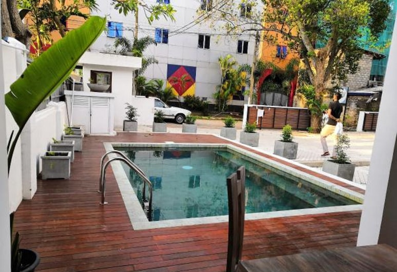 Island Hostels Colombo, Colombo, Güneşlenme Verandası