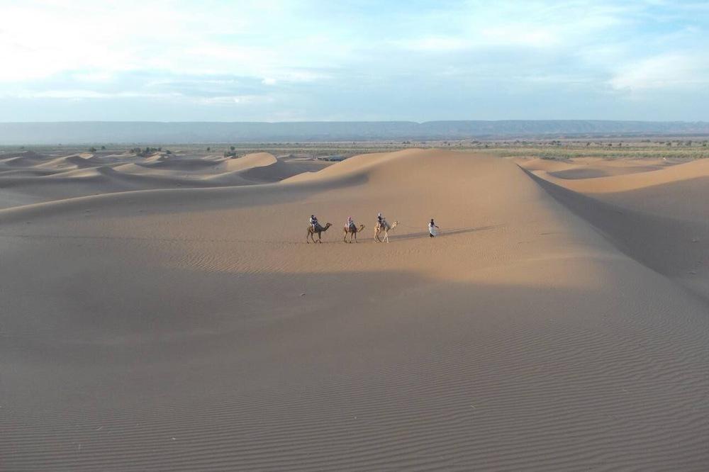 Night In The Desert - Bivouac Draa
