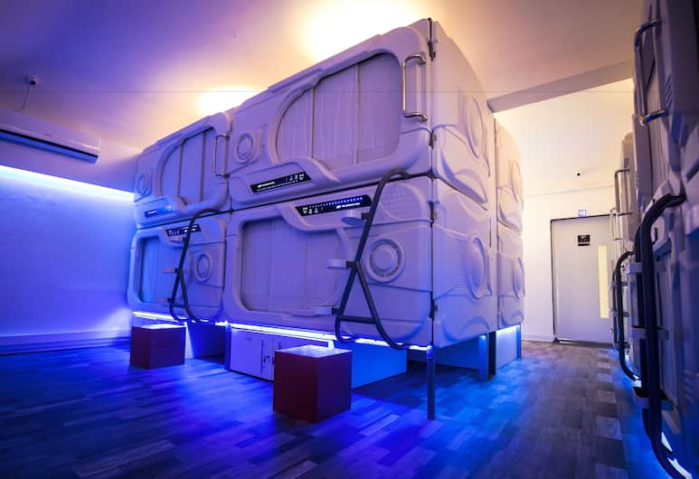 The Capsule Hotel - Hostel, Colombo, Single Room with Television, Pokój