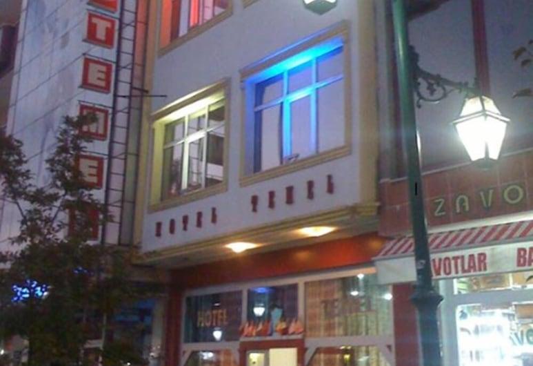 Hotel Temel, Kars, Parte delantera del hotel