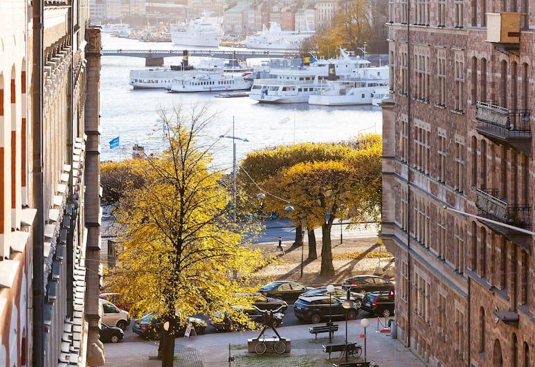 City Apartments Stockholm, Stoccolma, Appartamento Deluxe, 1 camera da letto, balcone, vista baia (A), Vista balcone