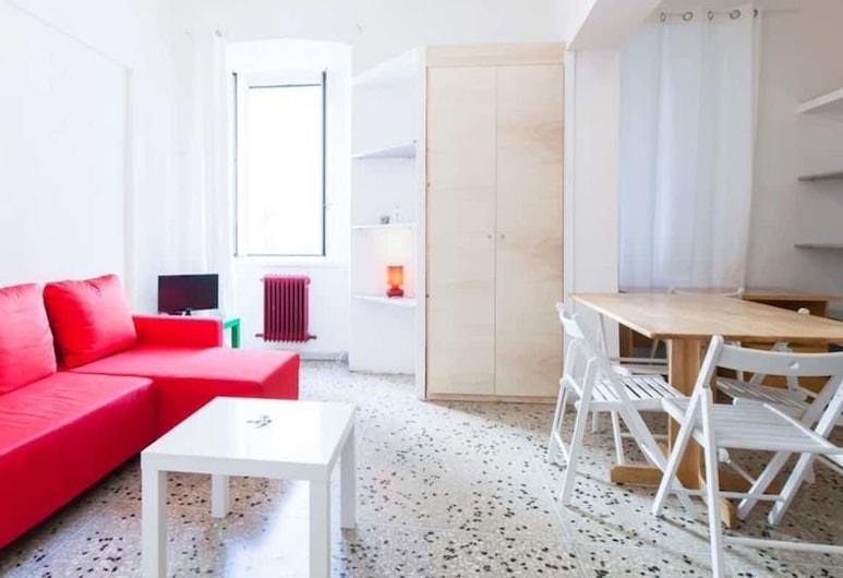 Cappellari 5 Campo de Fiori, Rome, Apartment, 1 Bedroom, Living Area