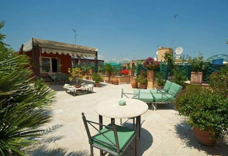 Exclusive Terrace Largo Argentina, Rome, Panoramic Apartment, 1 Bedroom, Terrace, Terrace/Patio