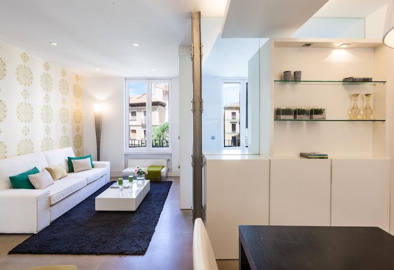 Home Club Angosta de los Mancebos III, Madrid, Apartment, 1 Bedroom, City View, Living Room