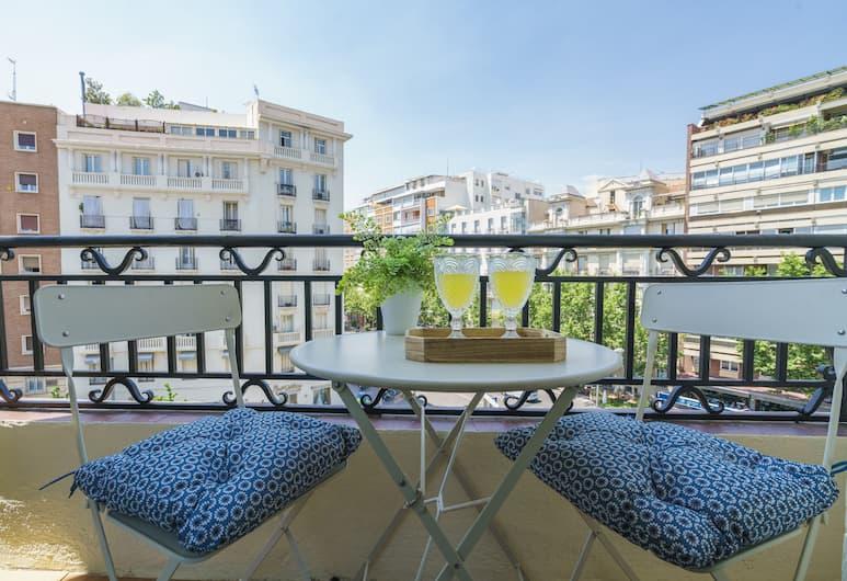 Home Club Antonia Mercé Apartments, Madryt, Apartament, 4 sypialnie, widok na miasto, Balkon
