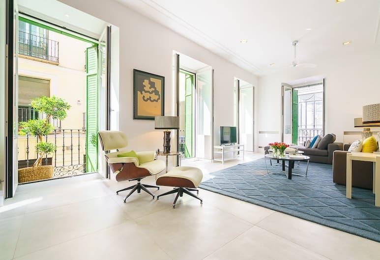 Home Club Libertad III, Madrid, Apartment, 2Schlafzimmer, 2 Bäder, Wohnzimmer