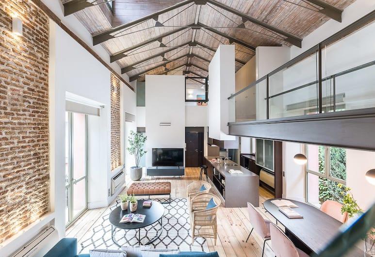 Home Club Pelayo IV, Madryt, Duplex, 3 sypialnie, 2 łazienki, Powierzchnia mieszkalna