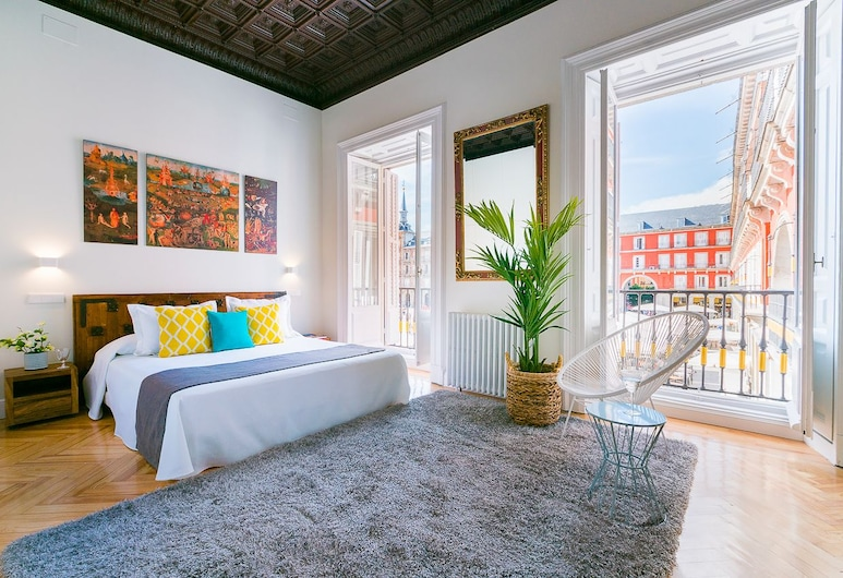 Home Club Plaza Mayor IV, Madrid, Appartement, 3 chambres, balcon, vue ville, Chambre