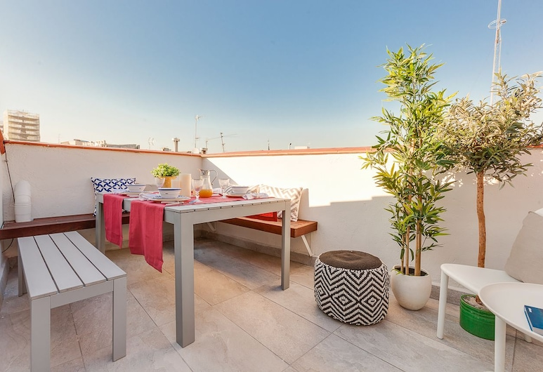 Home Club Pontejos, Madrid, Apartment, 2 Bedrooms, Terrace, Terrace/Patio