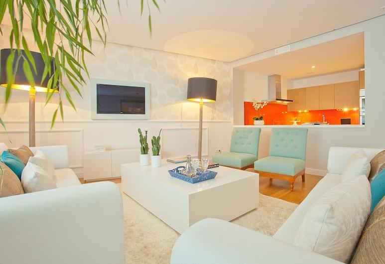 Home Club Serrano V, Madrid, Apartment, 2 Bedrooms, 2 Bathrooms (Serrano V), Living Room