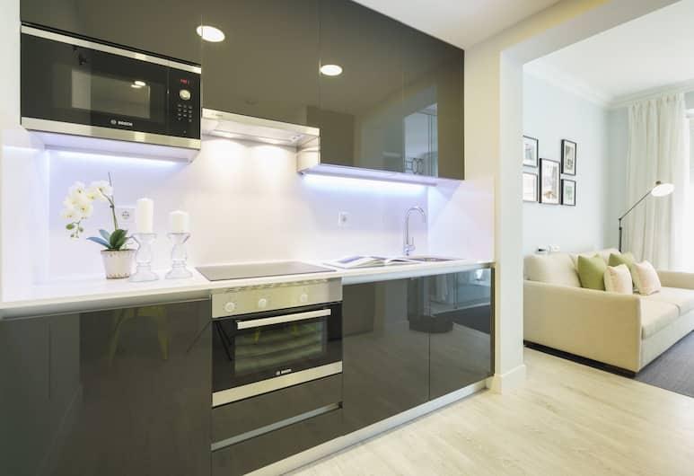 Home Club Silva I, Madrid, Apartment, 1 Bedroom, Private kitchen