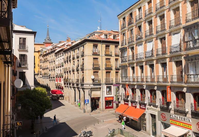 Home Club Toledo III, Madryt, Apartament, 2 sypialnie, balkon, widok na miasto, Widok ulicy