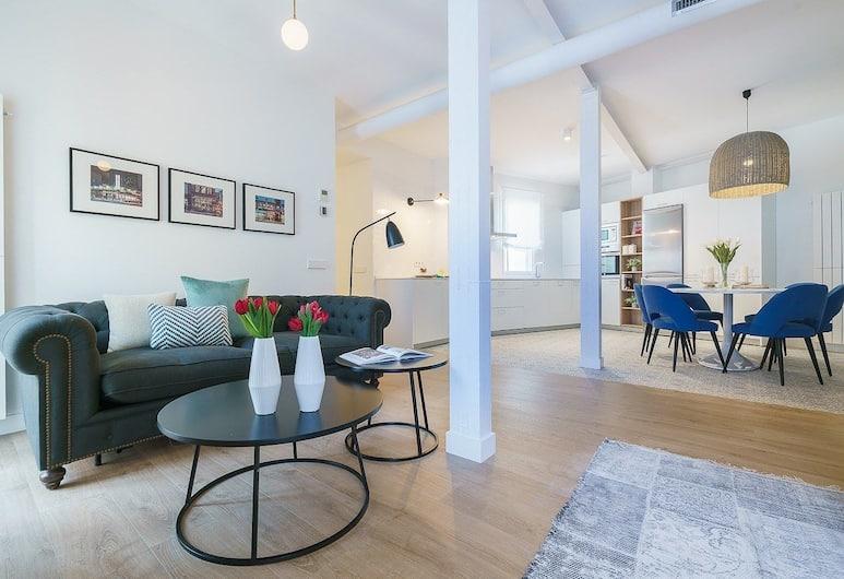 Home Club Vergara II, Madrid, Apartment, 2Schlafzimmer, 2 Bäder, Wohnzimmer