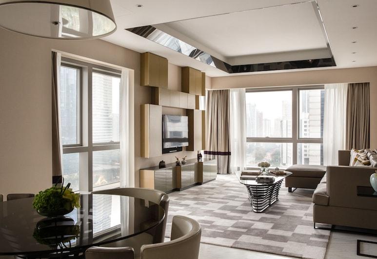 廣州卓美亞禮庭公寓, 廣州市, 後現代豪華二居室公寓, 客廳