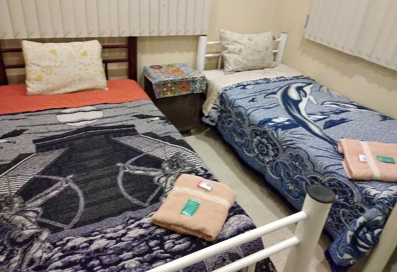 Casa Zocalo, Mexico, Chambre Double Standard, 2 lits une place, non-fumeurs, salle de bains commune, Chambre