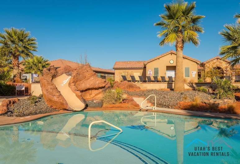 PVZ #49: Hidden Pinyon at Paradise Village at Zion, Santa Clara, Vanjski bazen