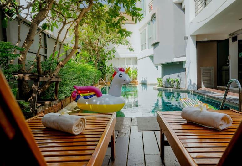 考山和平之地酒店, 曼谷, 室外泳池
