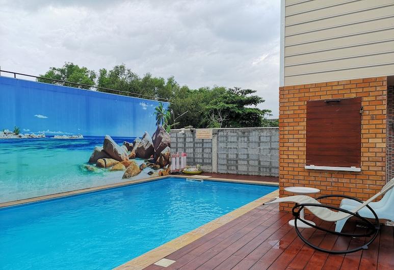 Poonpun Cottage, Pathum Thani, Vonkajší bazén