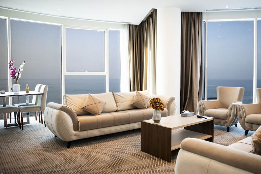 Panoramic Apartment, 1 Bedroom - Living Room
