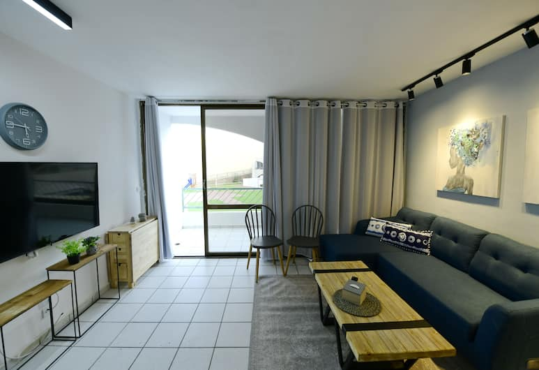 Love Eilat+balcony, Eilat, Classic Apartment, Non Smoking, Living Room