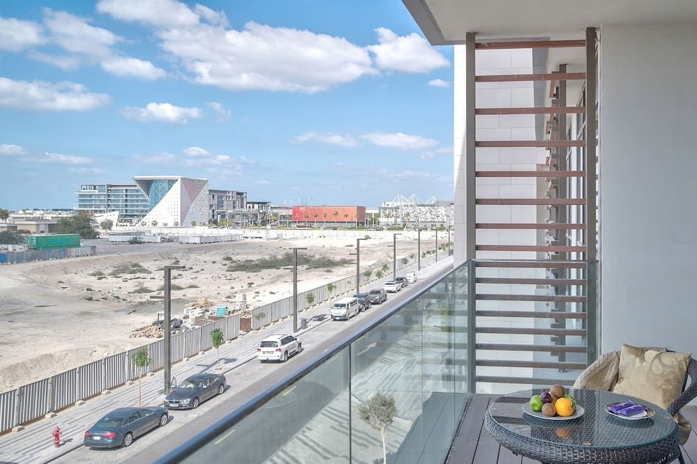 Apartemen Superior, 4 kamar tidur, pemandangan kota - Balkon