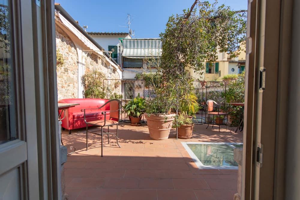 Suite, terrazzo - Vista giardino