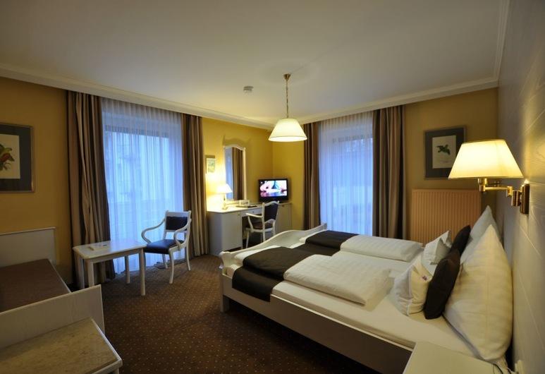 Hotel Elisabeth, Bad Abbach, Dvivietis kambarys su patogumais, Nerūkantiesiems, Svečių kambarys