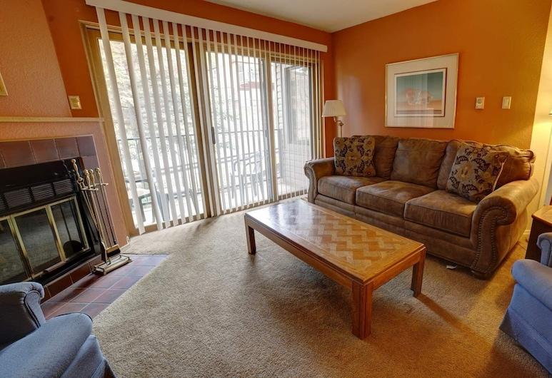 山峰精神 #213 號 1 房公寓式客房, 天使火城, 公寓客房, 1 間臥室, 客廳