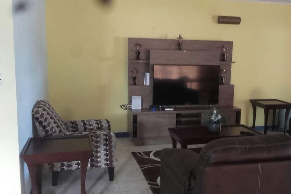 Family Room, Pool View - Living Room