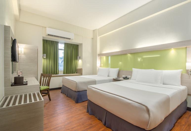 Microtel Inn & Suites by Wyndham San Fernando, San Fernando, Quarto, 2 camas queen-size, Não-fumadores, Quarto