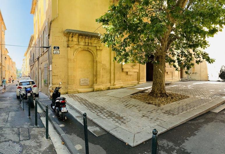 Appartements rue Pavillon, Aix-en-Provence, Pohľad na zariadenie