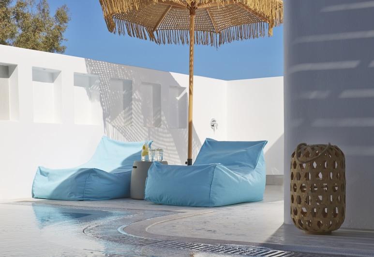 Eolia Kamari Villa, Σαντορίνη, Traditional Villa with heated pool, Θέα από το δωμάτιο