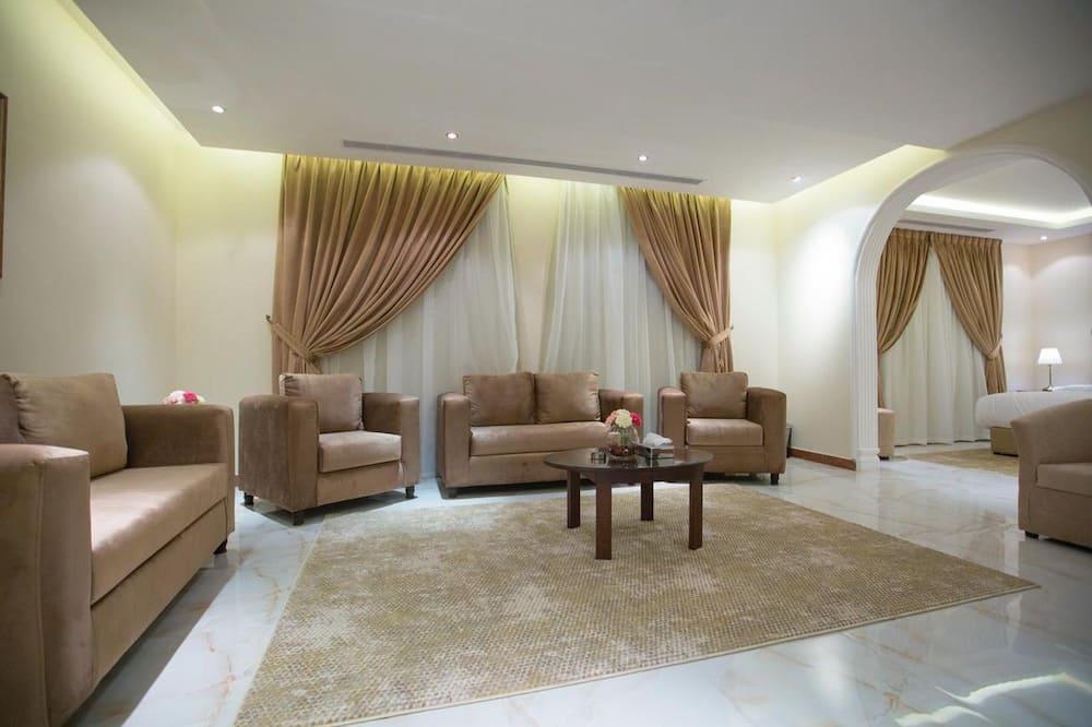 Suite clásica - Sala de estar