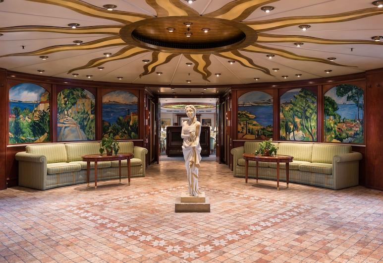 OnRiver Hotels  - MS Cezanne, Budapest, Sitteområde i lobbyen