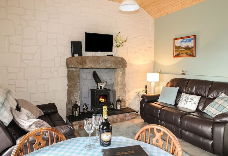 Pat White's Cottage, Newry, Living Area