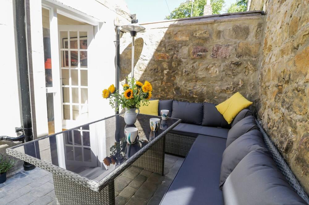 Kotedža - Balkons